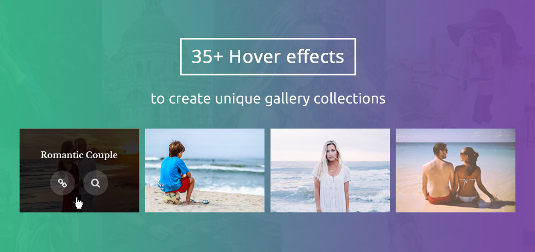 35+ Hover effects will inspire you to create unique Gallery Collections