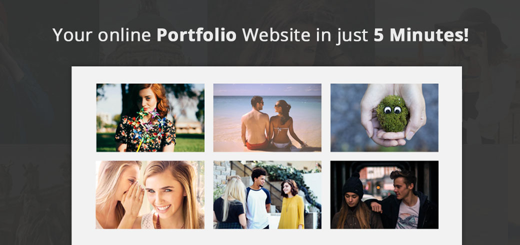 Portfolio website in just 5 minutes