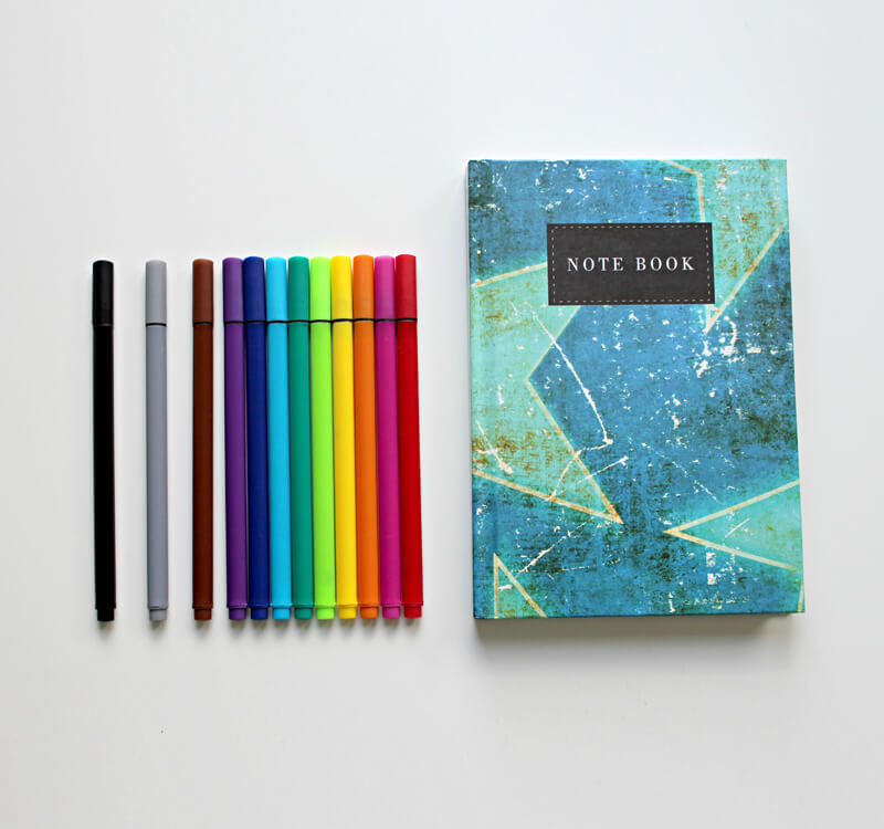 My colorful Notebook