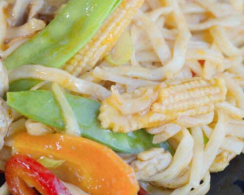 Wok Tossed Noodles
