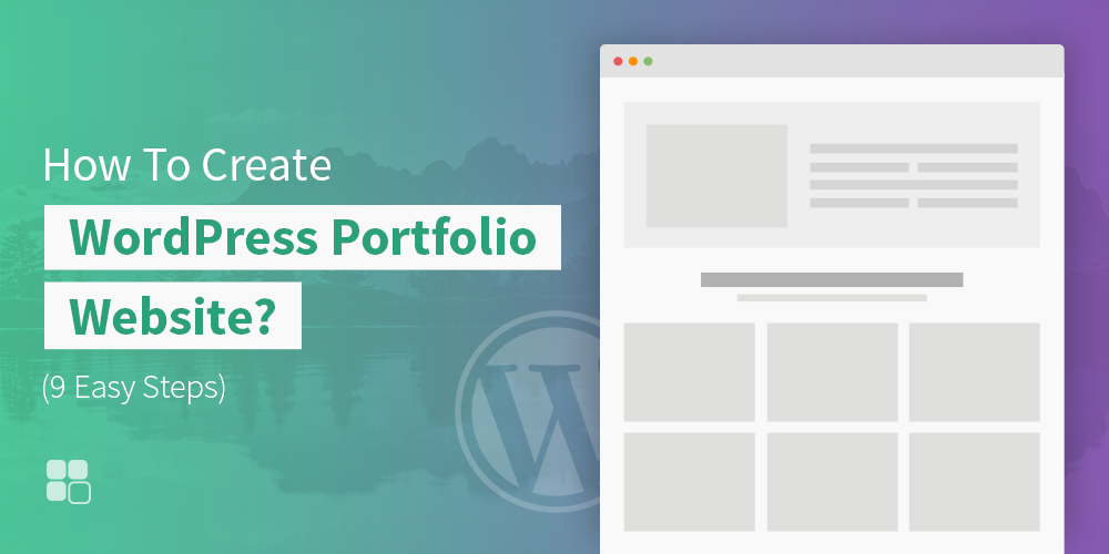 How To Create WordPress Portfolio Website