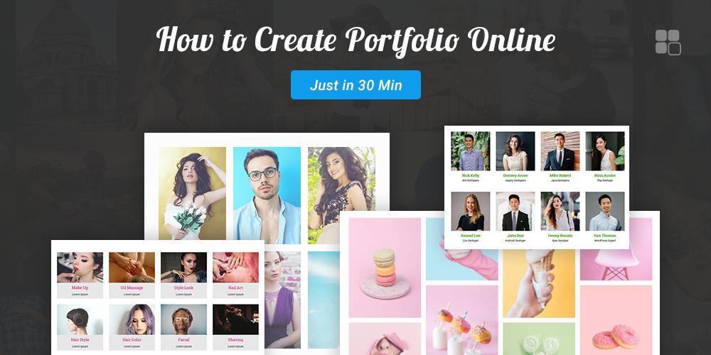 How to Create Portfolio Online