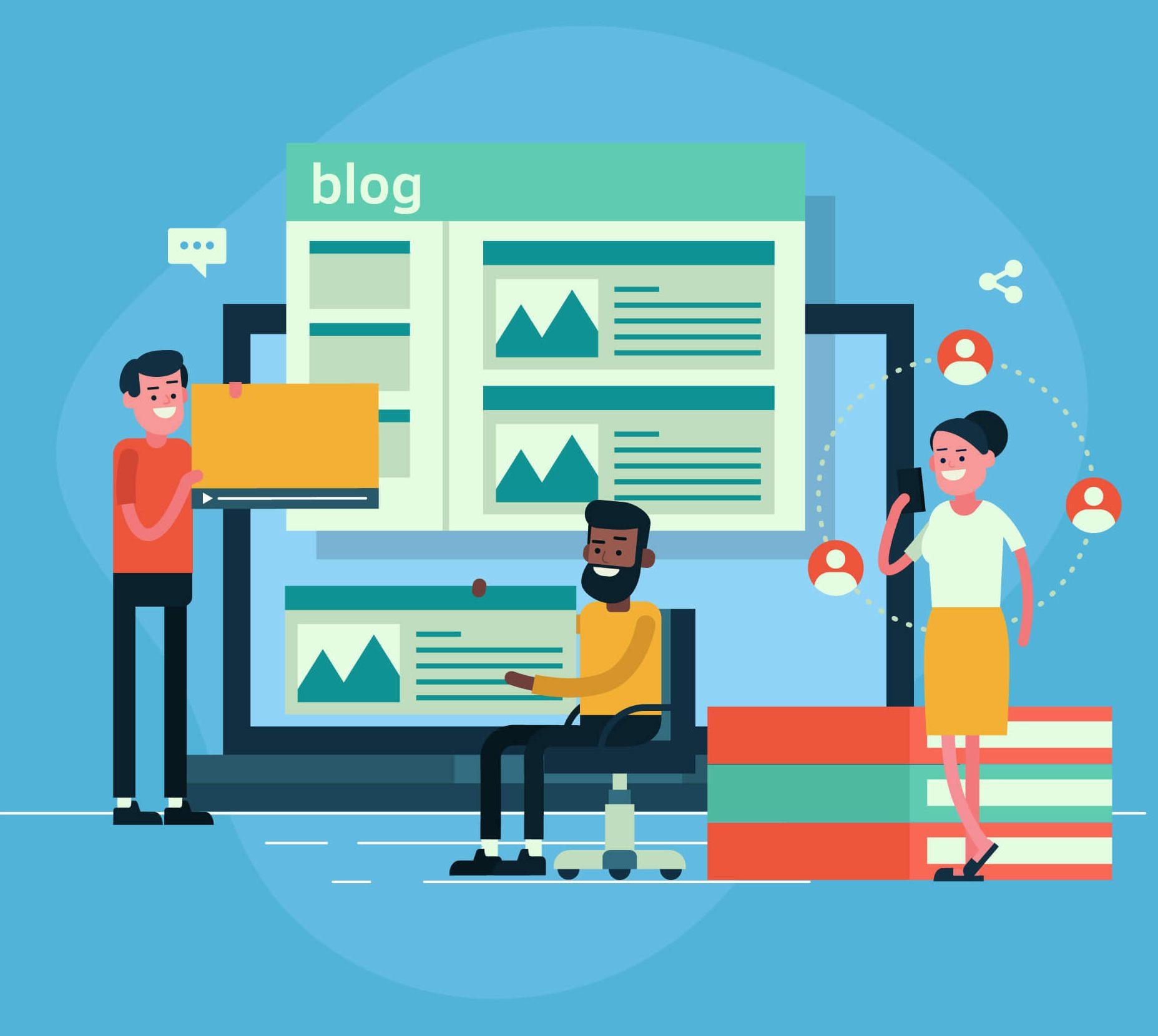 Add a Blog