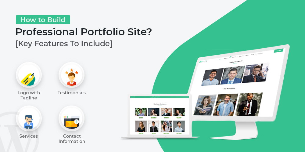 How To Build Professional Portfolio Site? [Key Features To Include]