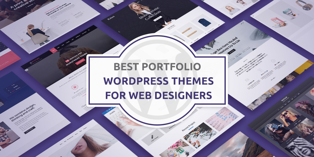 Best Portfolio WordPress Themes For Web Designer