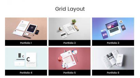 Portfolio-Designer-simple-grid-layout-450x250