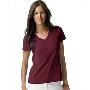 Womens Maroon T Shirt
