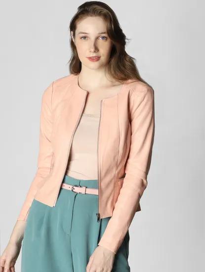 Peach Color Jacket
