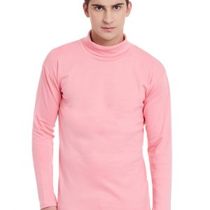 Hypernation Pink Color Men T-shirt
