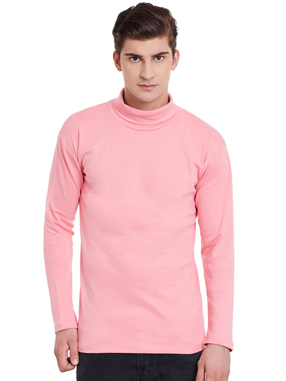 Hypernation Pink Color Men T-shirt