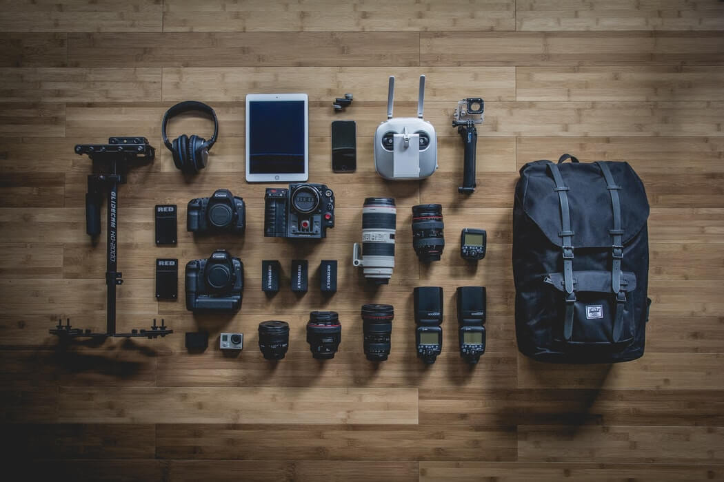 photography business equipments